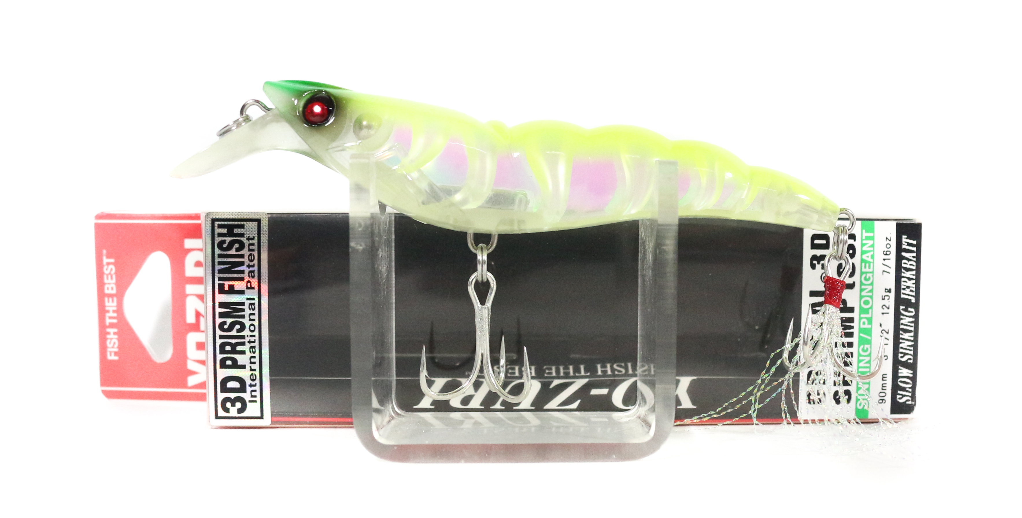 Yo Zuri 3D Crystal Shrimp 90 mm Sinking Lure R1162-LSAC (2622)