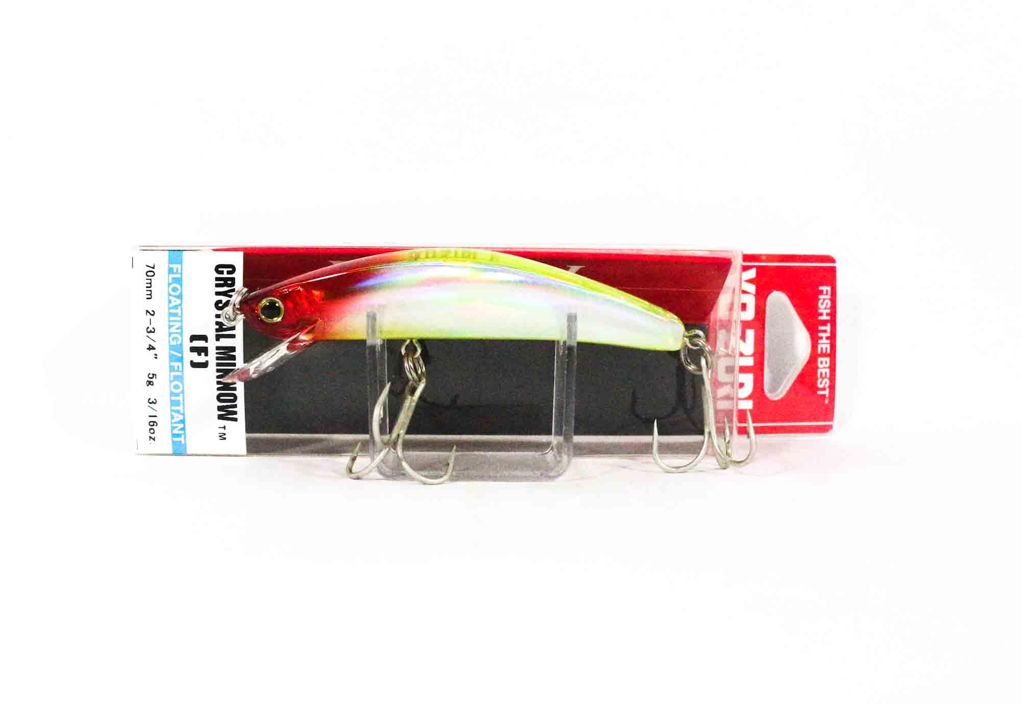 Yo Zuri Crystal Minnow 70 mm Floating Lure R1122-HCR 1663