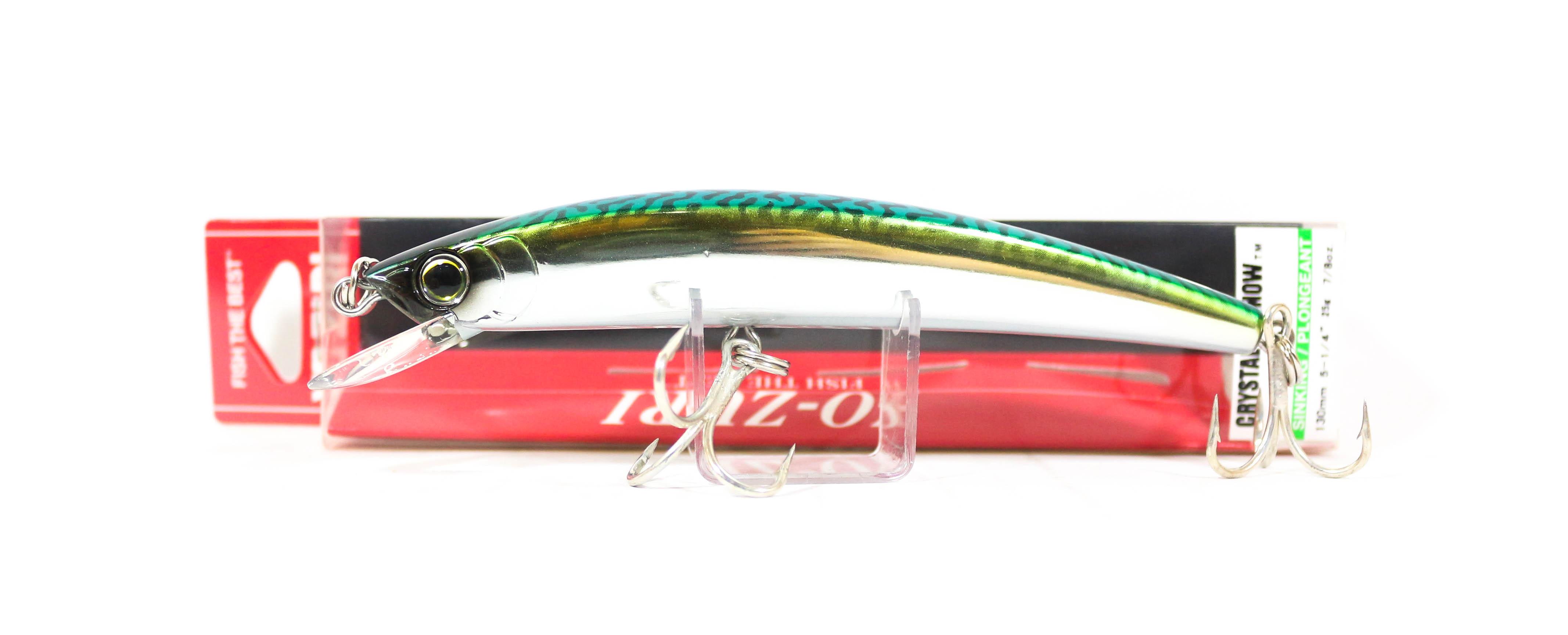 6763 Yo Zuri Crystal Minnow DD Walleye 90 mm Galleggiante Esca R1205-MN