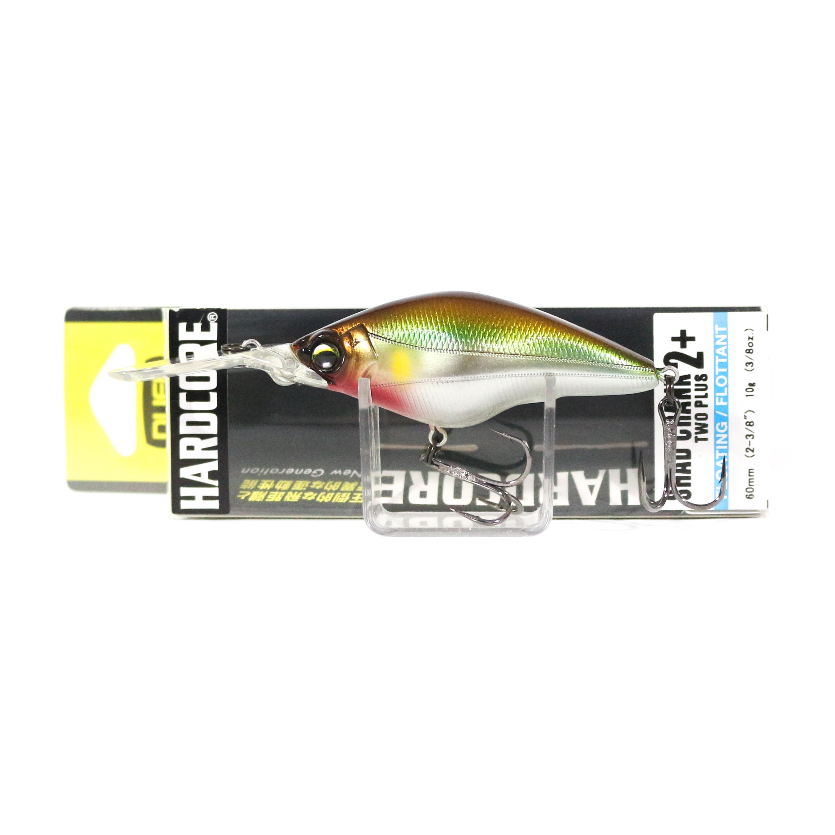 Yo Zuri Duel Hardcore Shad Crank 2+ 60F Floating Lure R1185-MGSA (9584)