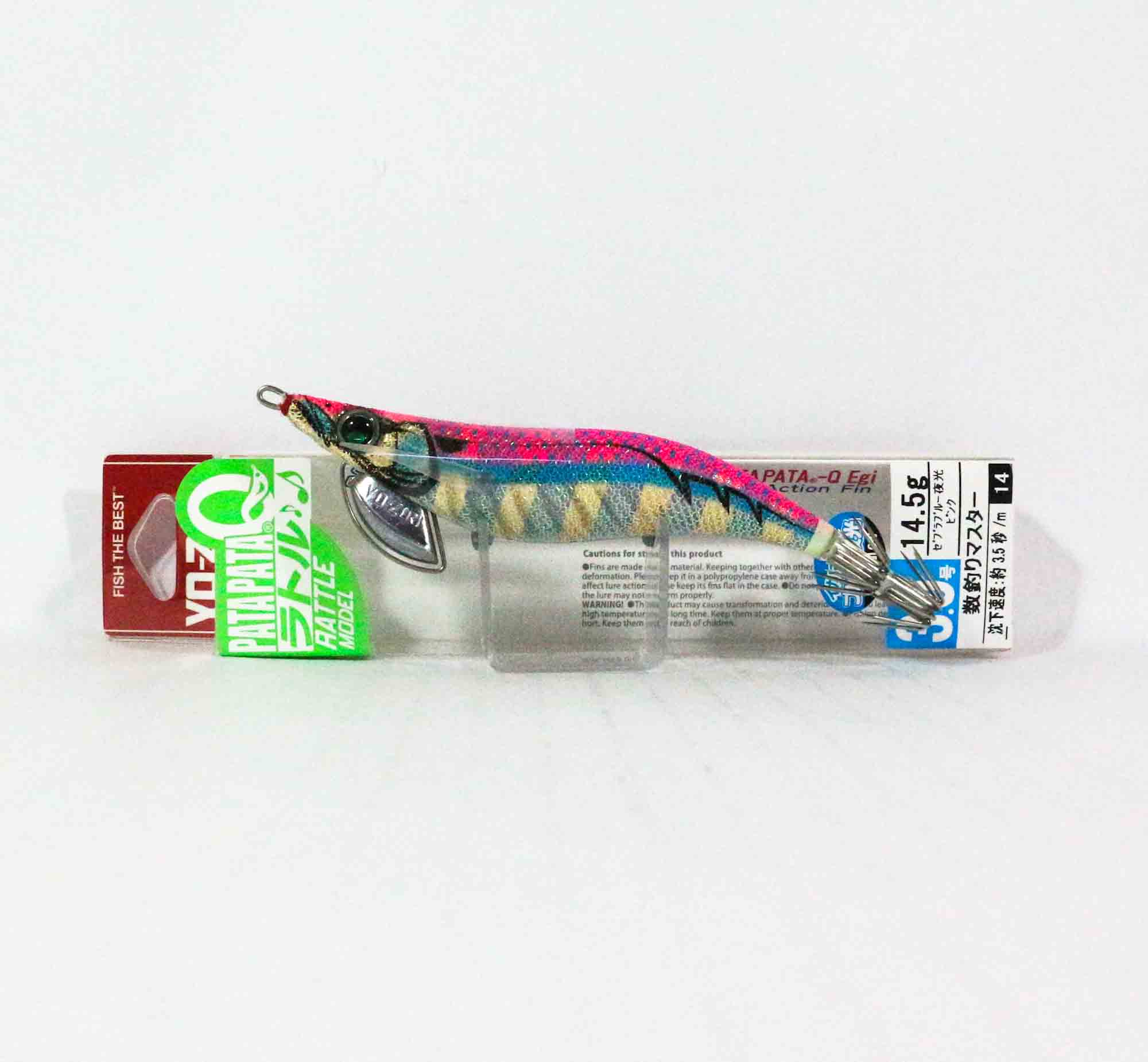 5388 Yo Zuri Egi Pata Pata Q Rattle Squid Jig Lure Sinking Size 3.0 A1724-ZBLP