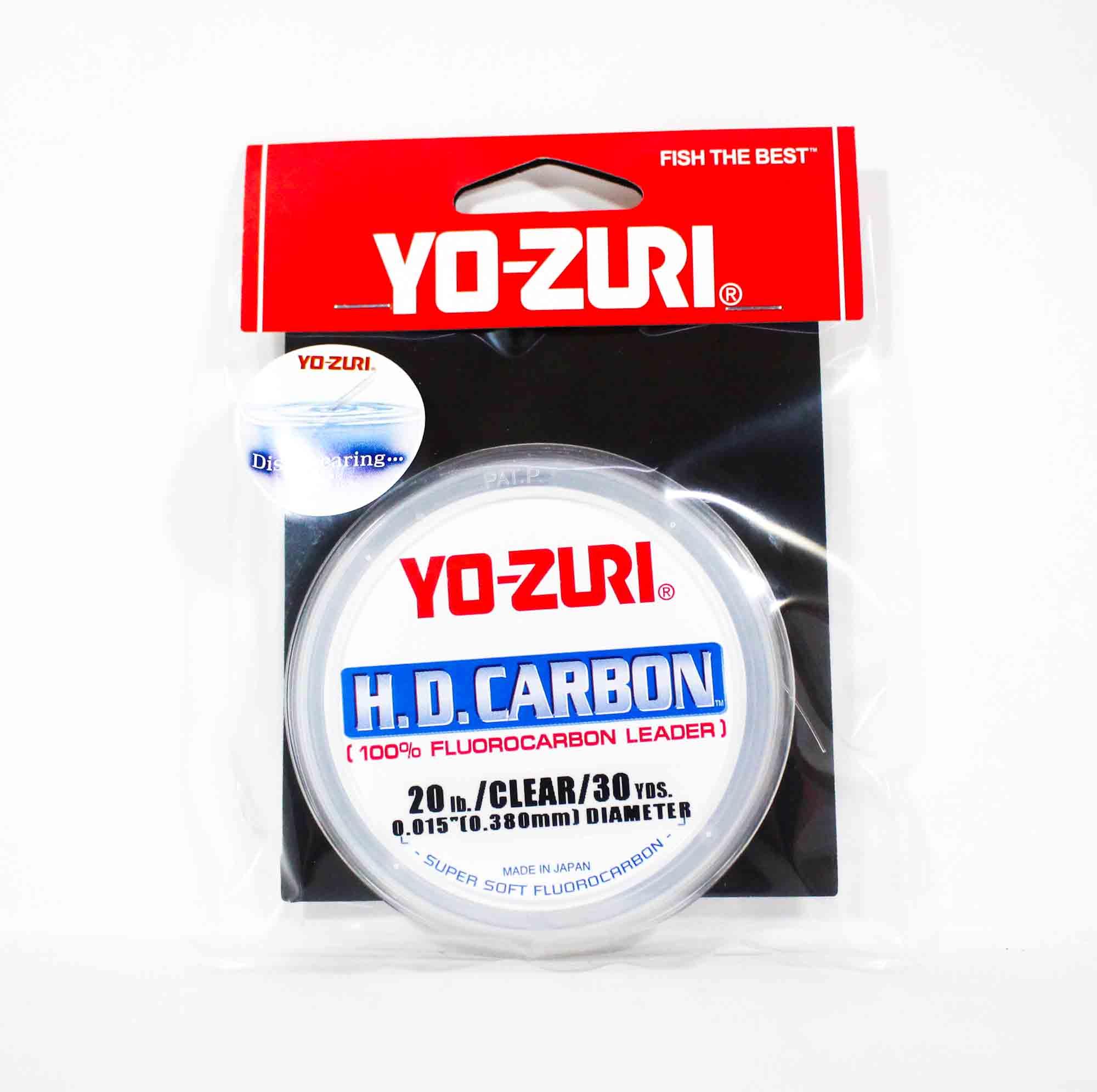 Yo Zuri Duel H.D Carbon Fluorocarbon 30 yds 20 lb R889-CL (0894)