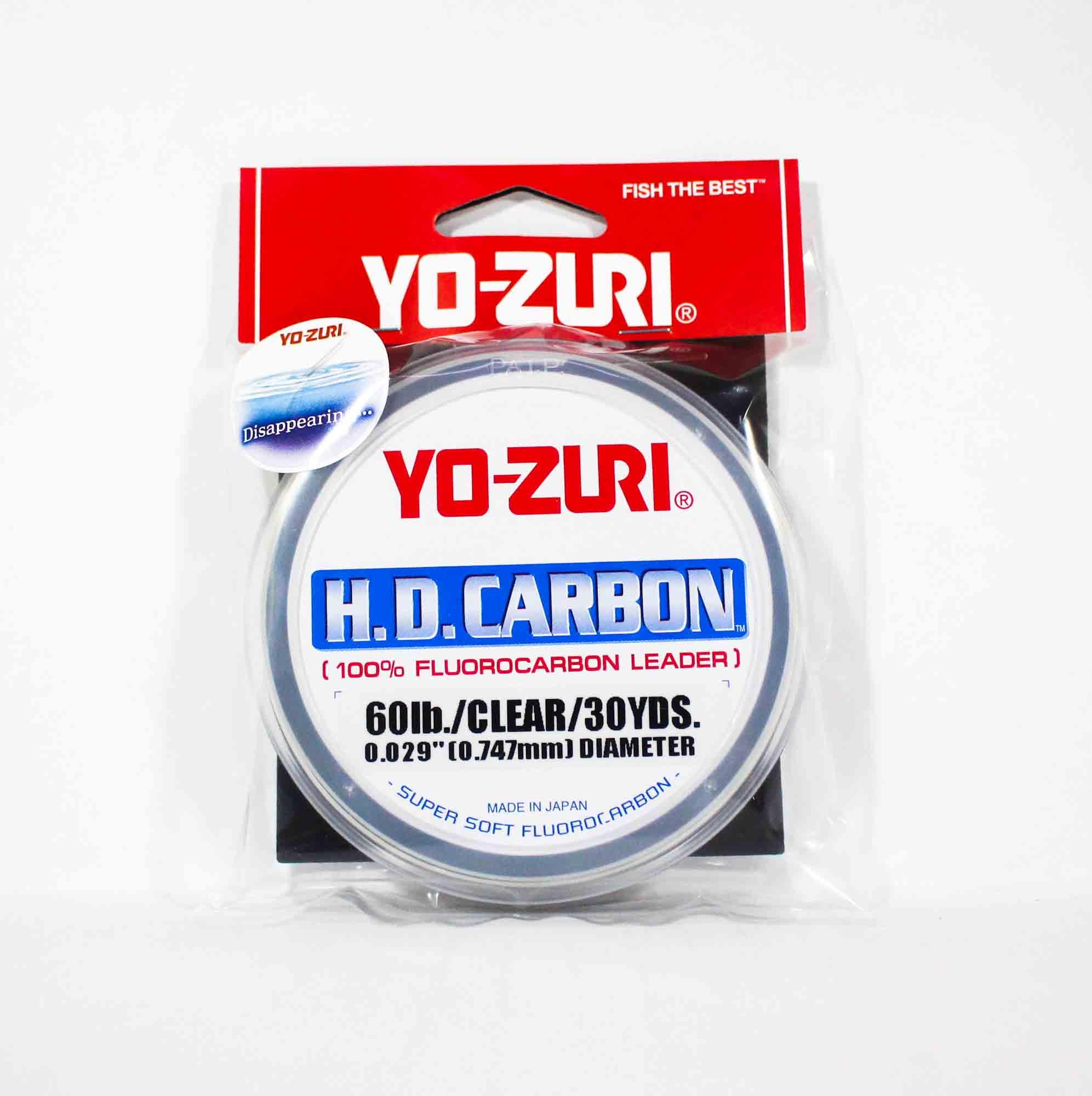 Yo Zuri Duel H.D Carbon Fluorocarbon 30 yds 60 lb R894-CL (0948)