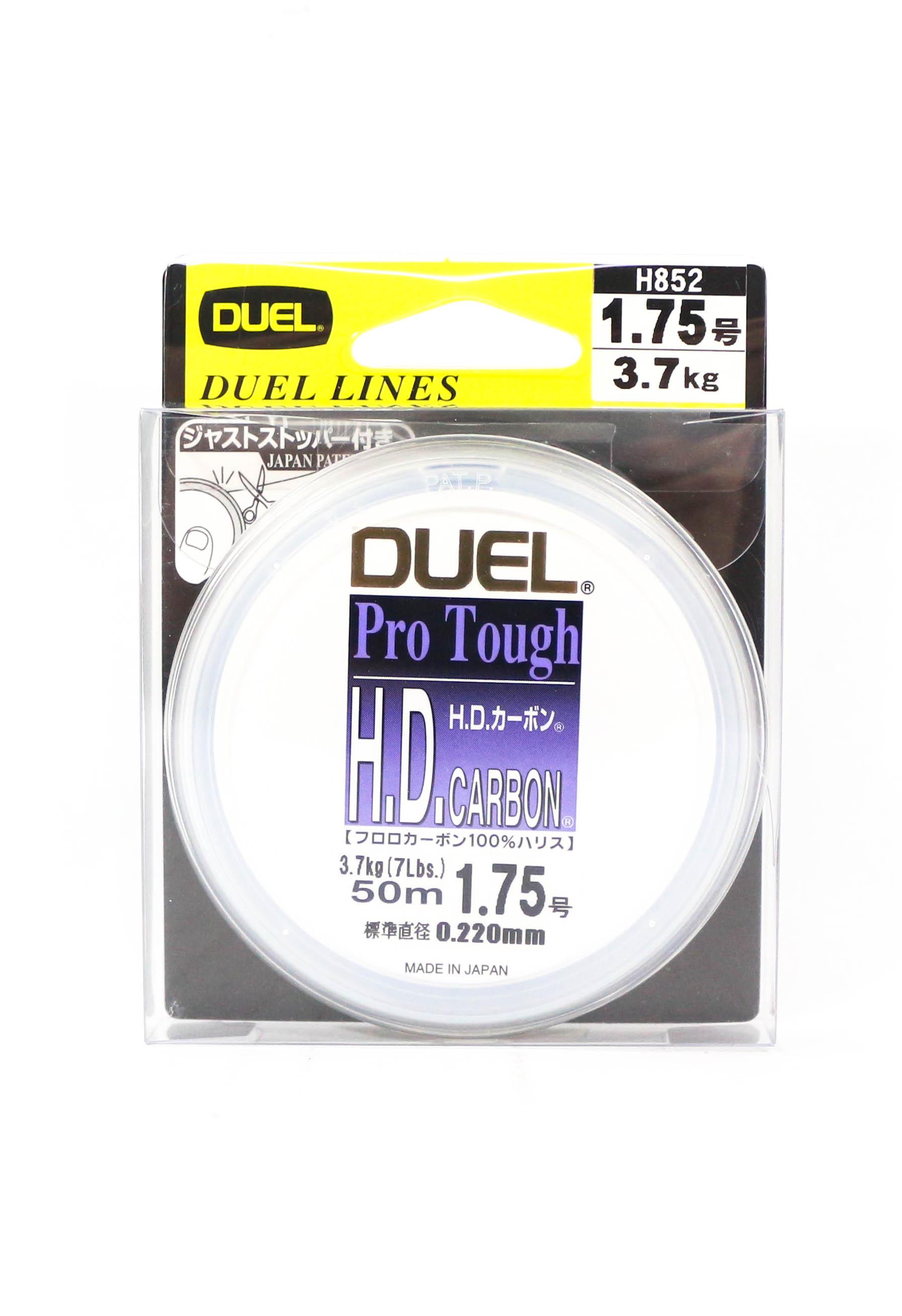 Yo Zuri Duel H.D Pro Tough Leader Fluorocarbon 50m Size 1.75 7lb H852 (2102