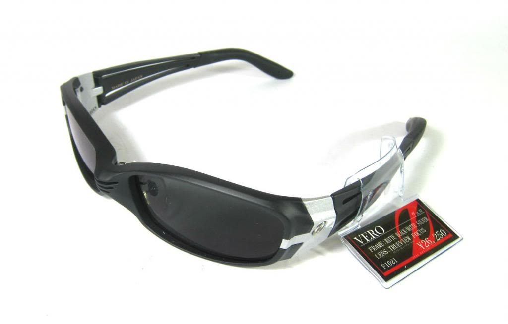 Zeal Polarised Fishing Sunglasses VERO F-1021 MATTE BLK/SILVER TVF (0809)