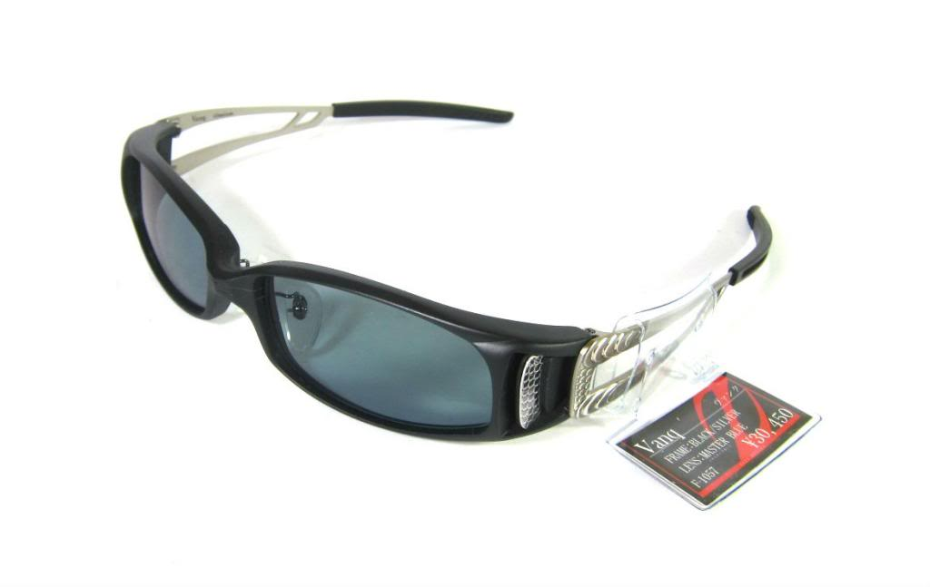 Zeal Polarised Fishing Sunglasses Vanq F-1057 BLK/SILVER MB (1615)