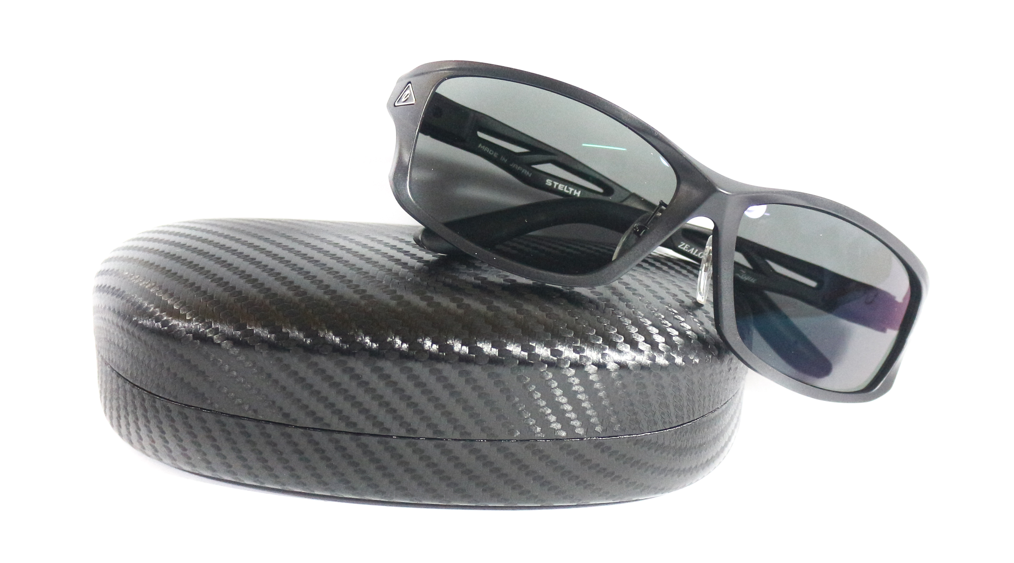 Zeal Polarised Fishing Sunglasses Stealth F-1385 MATT BLACK TVF (5255)