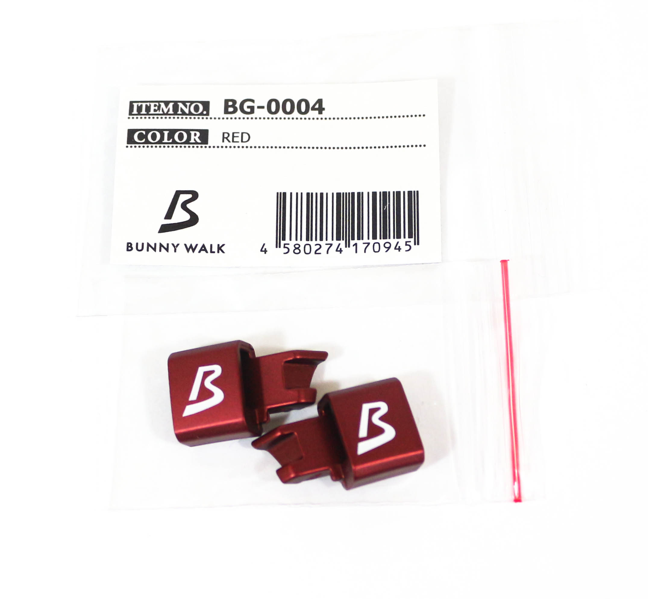 Zeal BG-0004 Link Parts for BW-018 Red (0945)