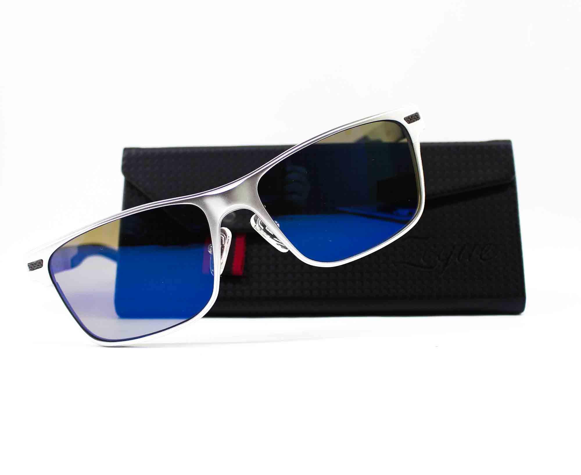 Zeque Polarised Fishing Sunglasses DECK F-1860 TVS Blue Mirror (8218)