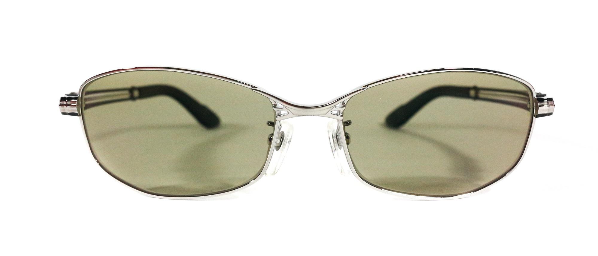 Zeque Polarised Fishing Sunglasses Feiz F-1330 MATTE CHROME TVS (3466)