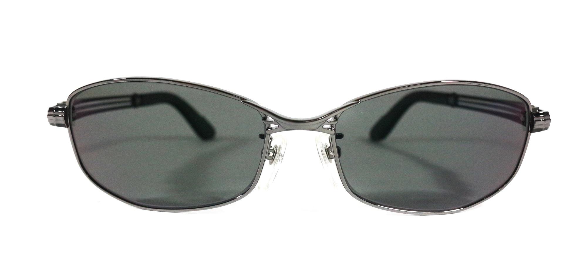 Zeque Polarised Fishing Sunglasses Feiz F-1334 MATTE CHROME TV FOCUS (3503)