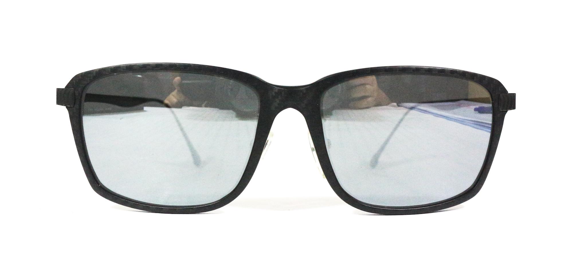 Zeque Polarised Fishing Sunglasses Jet F-1786 TVF Silver Mirror (7556)