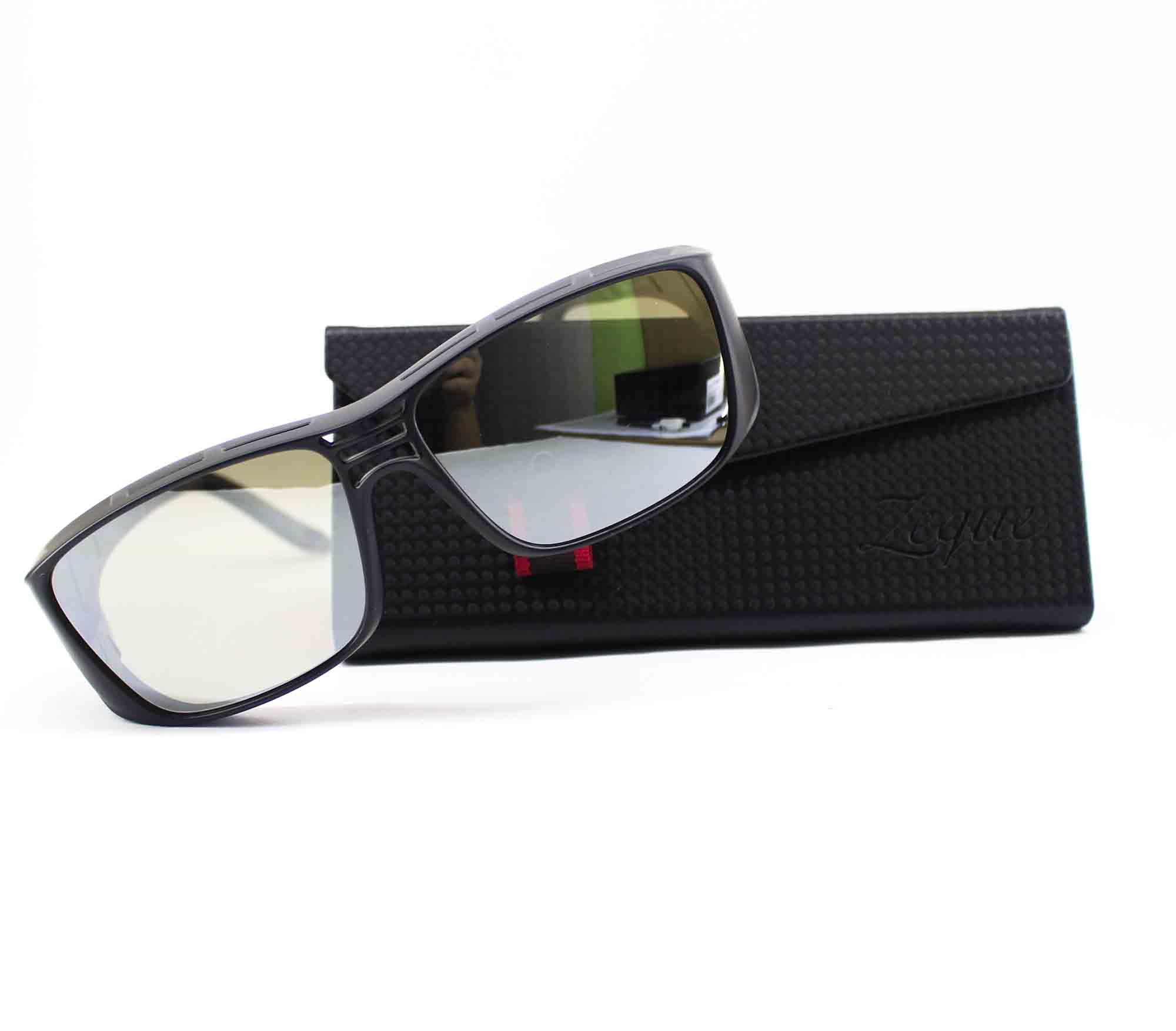 Zeque Polarised Fishing Sunglasses OPA F-1900 TVS Silver Mirror (8560)