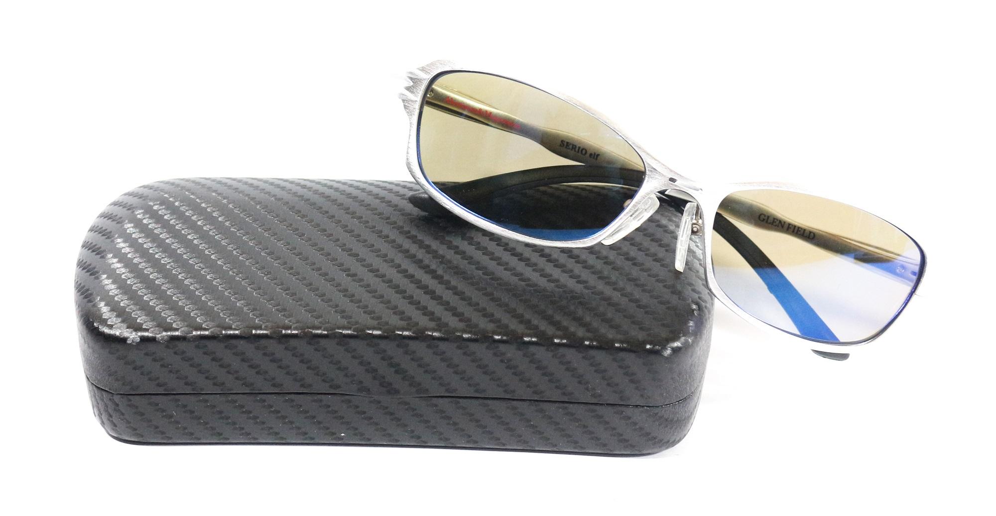 Zeque Polarised Fishing Sunglasses Serio Elf F-1183 Sv TVS Blue Mirr (4708)