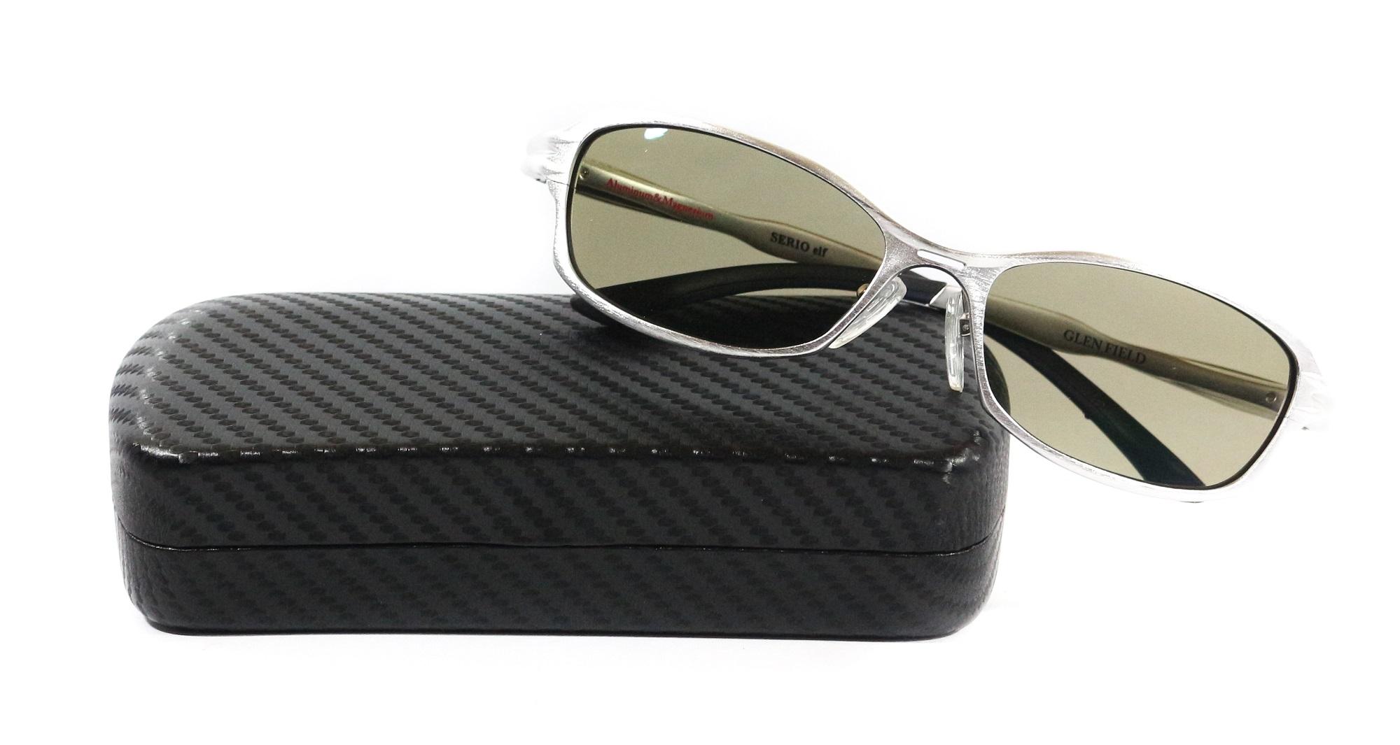 Zeque Polarised Fishing Sunglasses Serio Elf F-1185 SILVER TVS (4722)