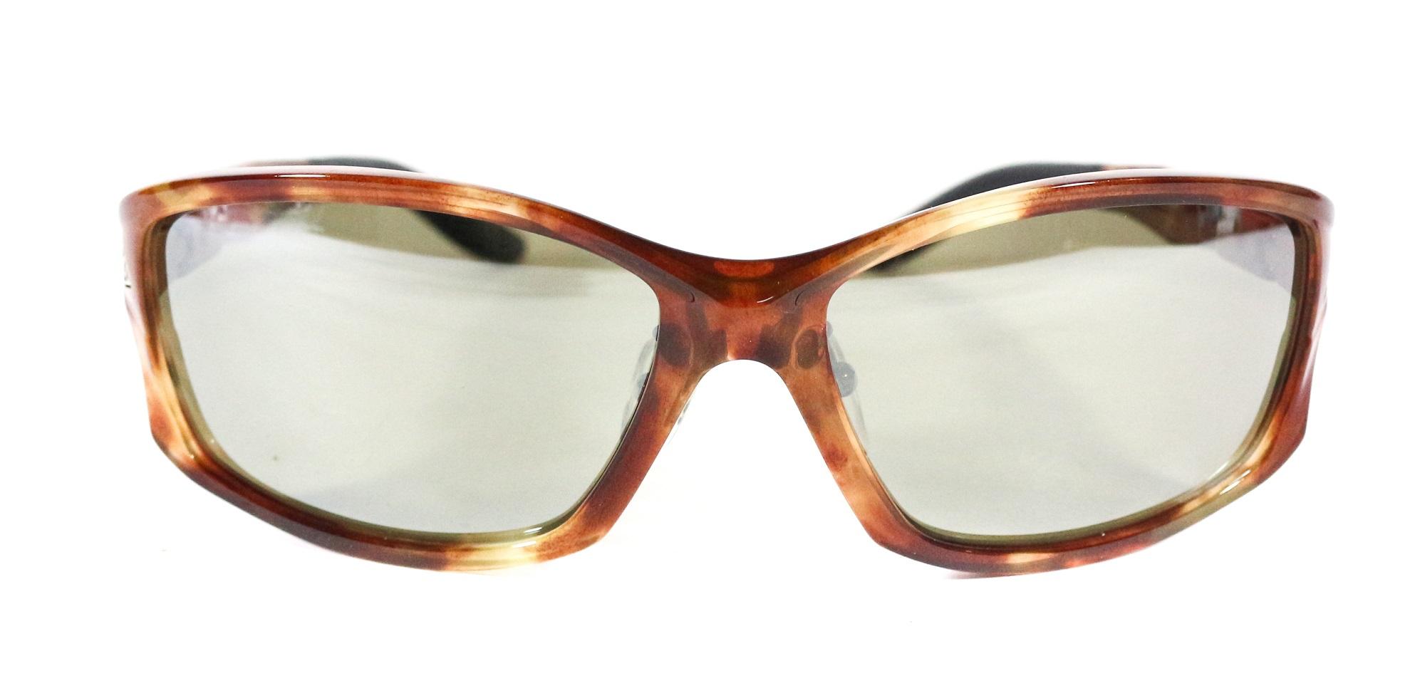 Zeque Polarised Fishing Sunglasses Stealth F-1387 BROWN DEMI TVS (5279)