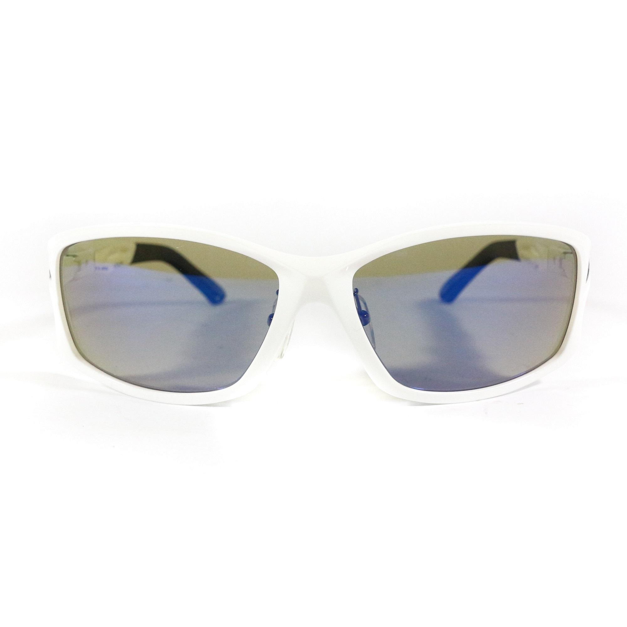 Zeque Polarised Fishing Sunglasses Stealth F-1395 BLUE MIRROR TVS (6511)