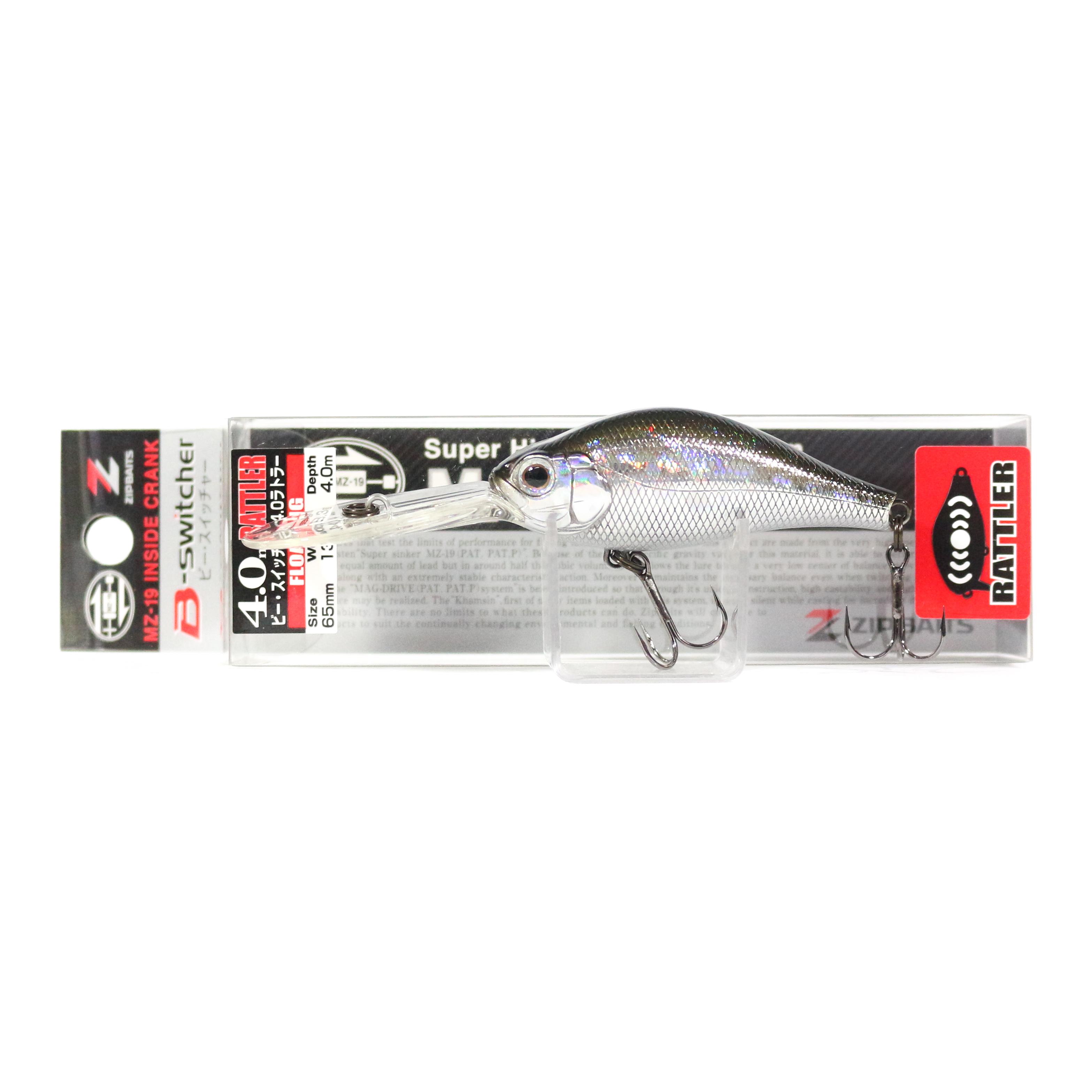 Zipbaits B Switcher 4.0 Rattler 65mm Floating Lure 510 (1095)