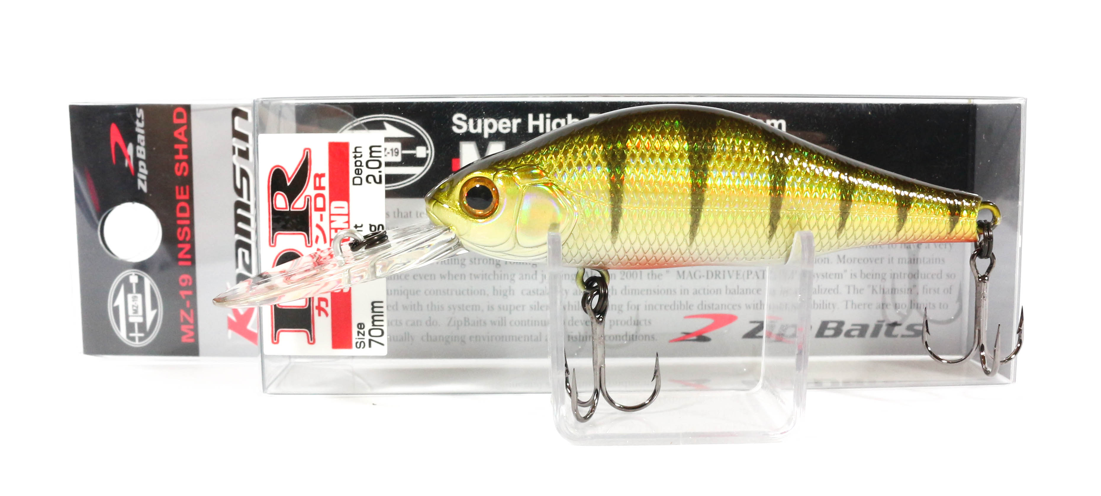 Zipbaits Khamsin DR 70mm Suspend Lure 401 (9307)