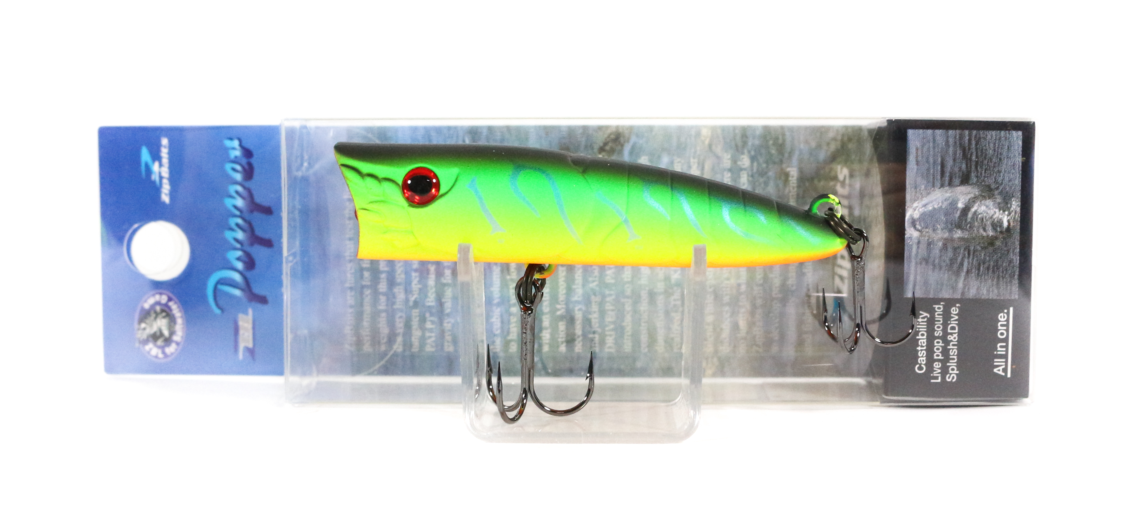 Sale Zipbaits ZBL Popper 68mm Floating Lure 070R (6039)