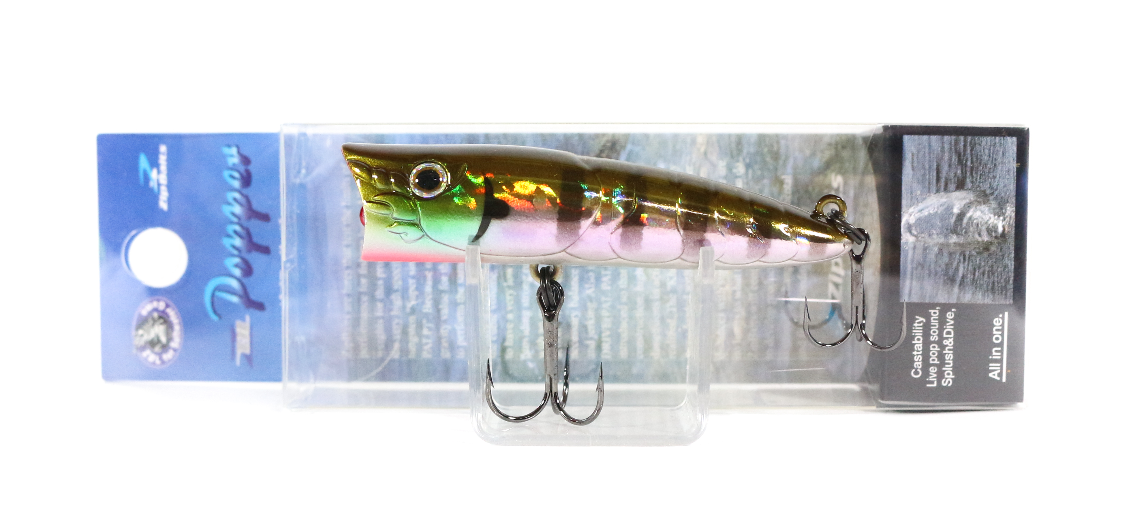 Sale Zipbaits ZBL Popper 68mm Floating Lure 509R (6053)