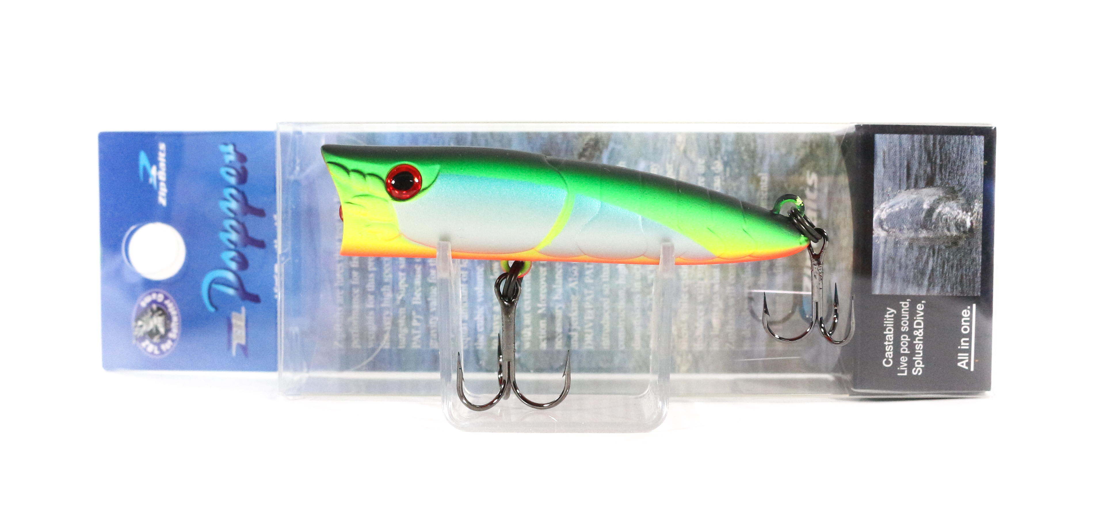 Sale Zipbaits ZBL Popper 68mm Floating Lure 537R (6060)