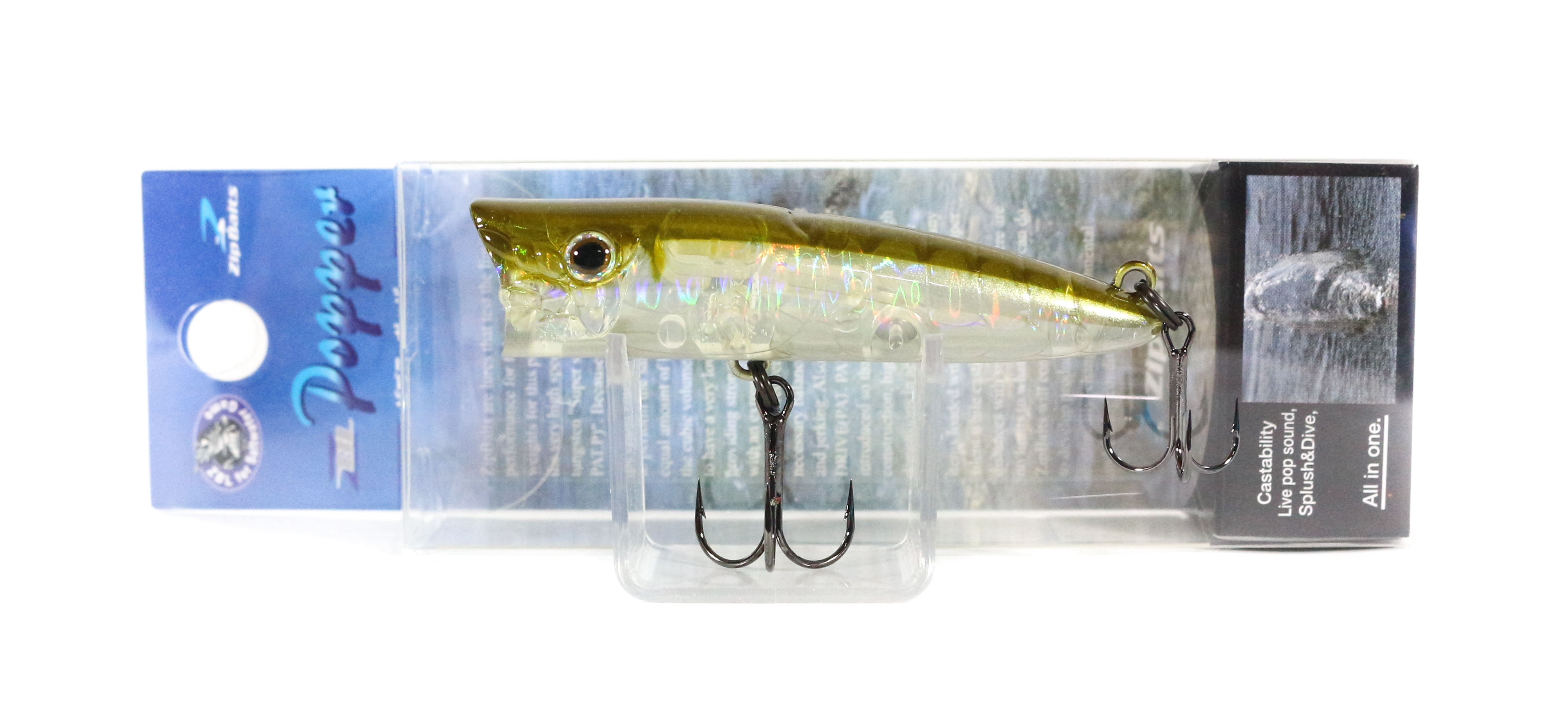 Sale Zipbaits ZBL Popper 68mm Floating Lure 023R (6107)