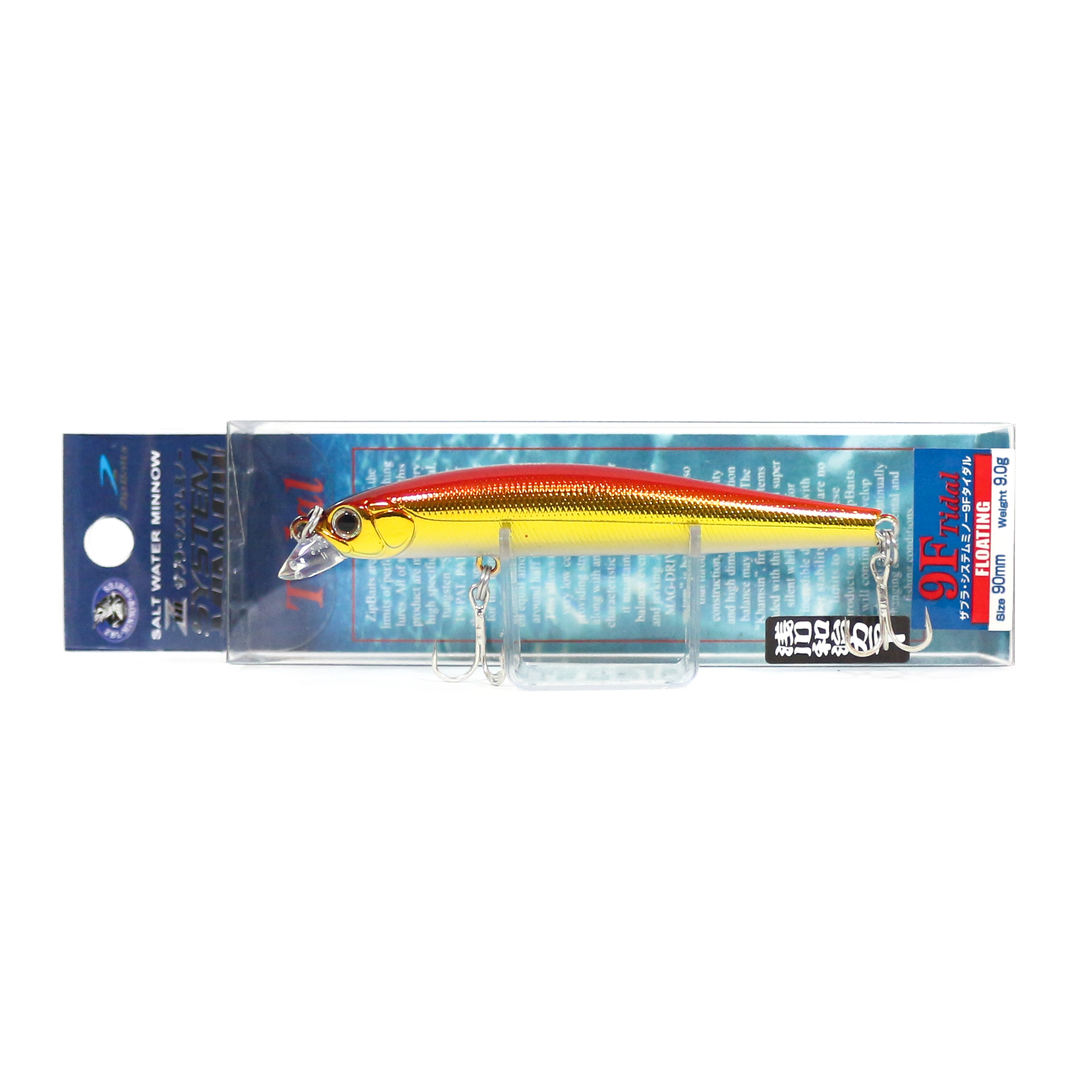 Zipbaits ZBL System Minnow 9F Tidal Floating Lure 703 (1029)