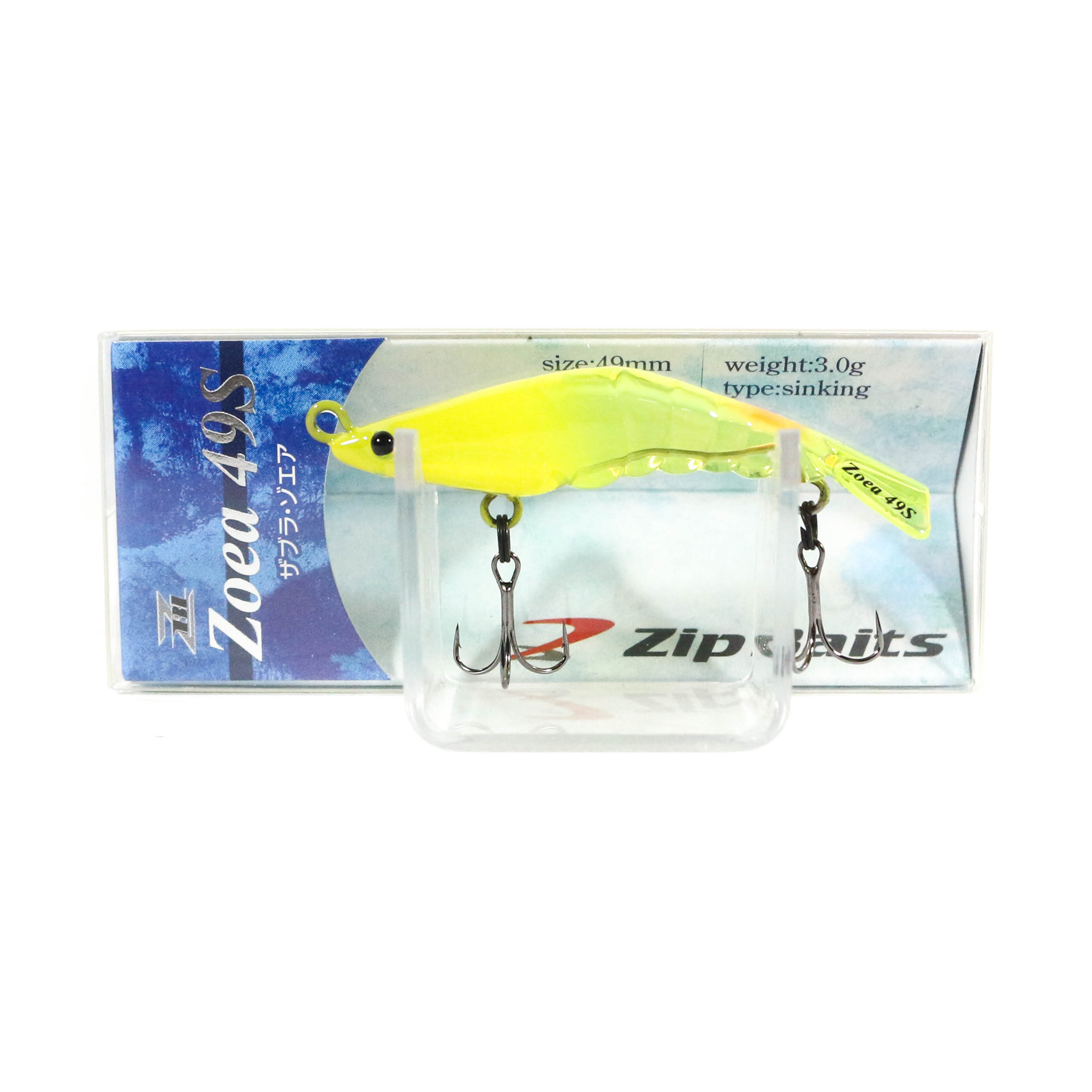 Zipbaits ZBL Zoea 49S Sinking Lure 442 (5759)
