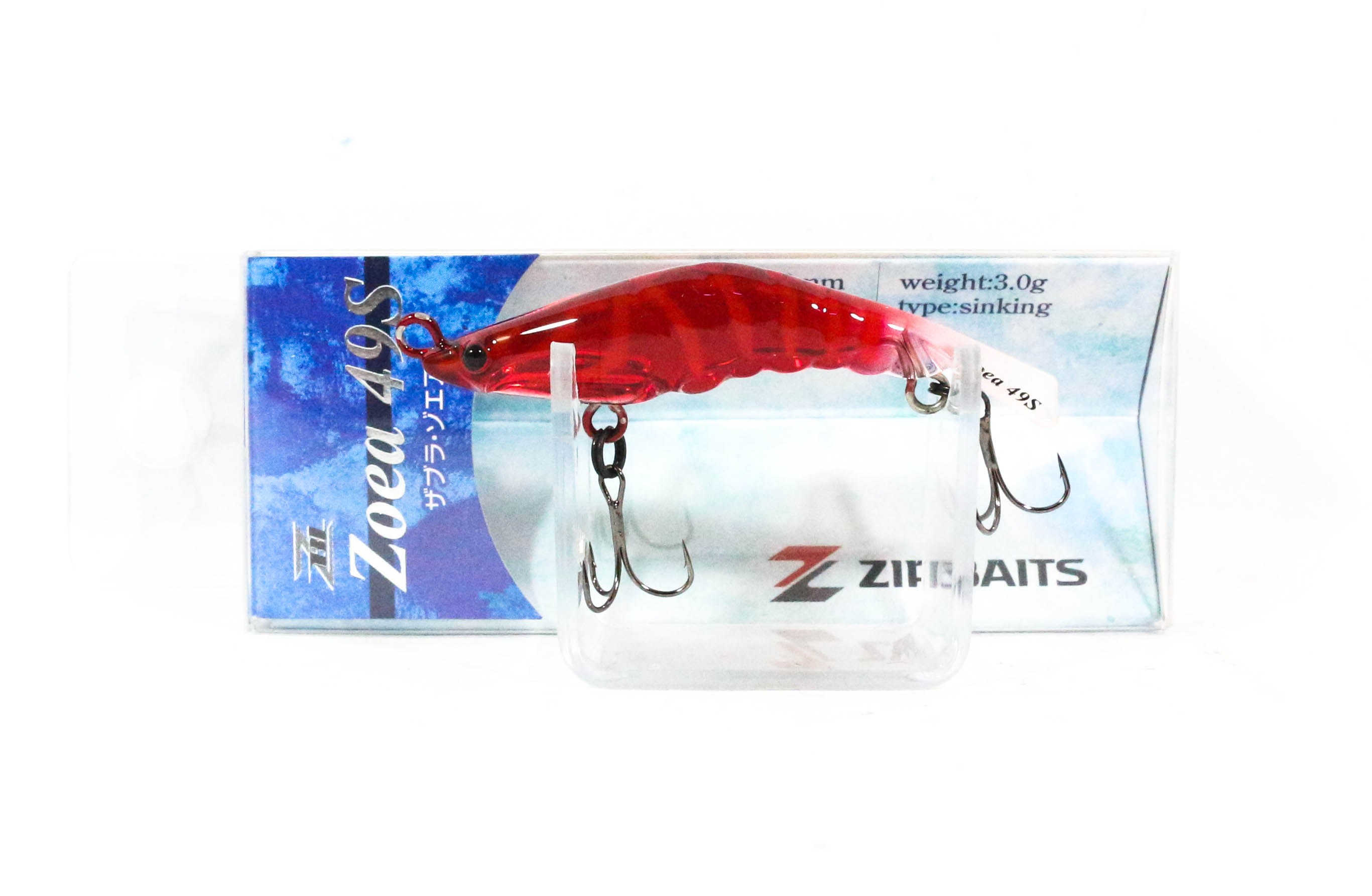 Zipbaits ZBL Zoea 49S Sinking Lure 196 (5865)