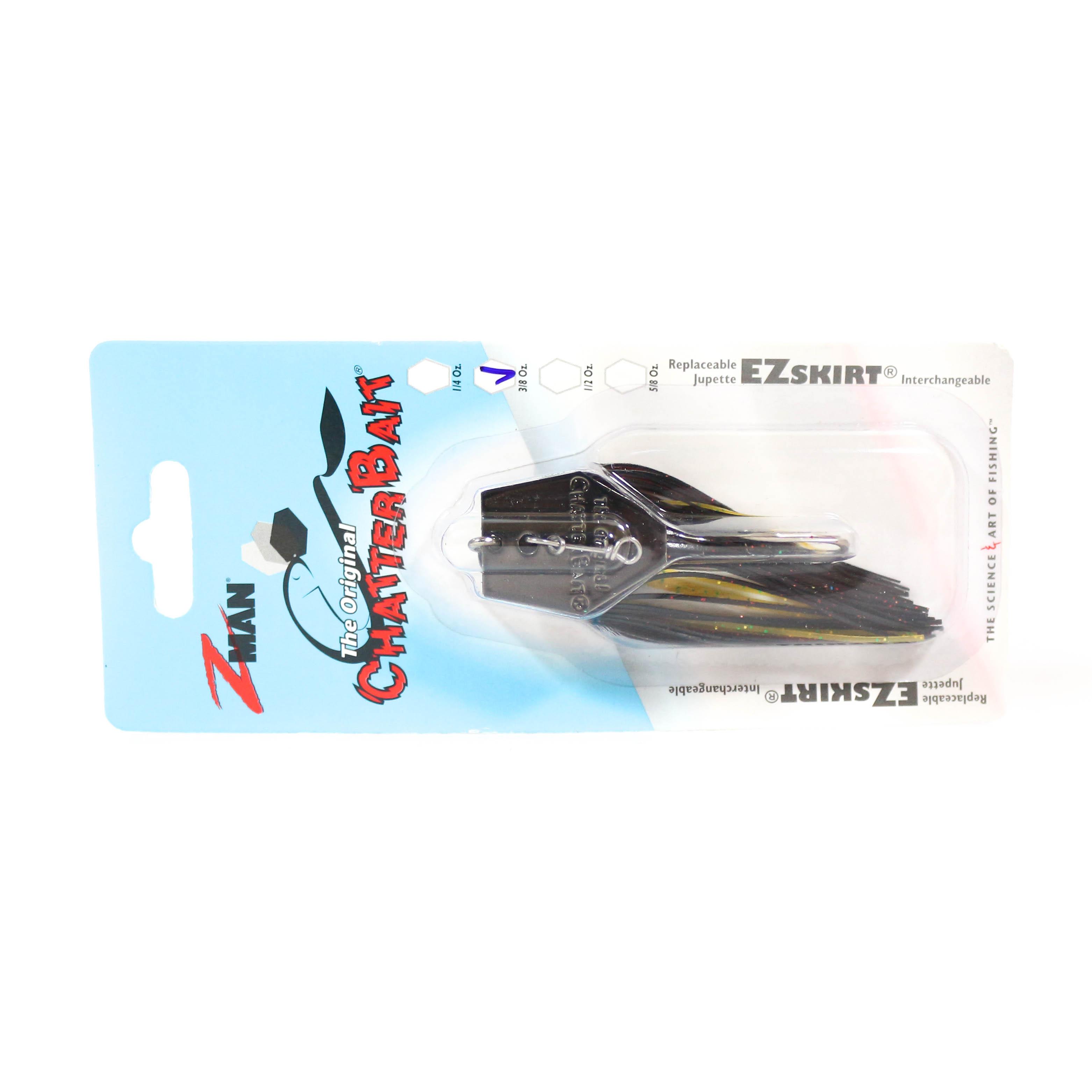 Zman Chatterbait 3/8 oz Sinking Lure Bayou Craw (0785)