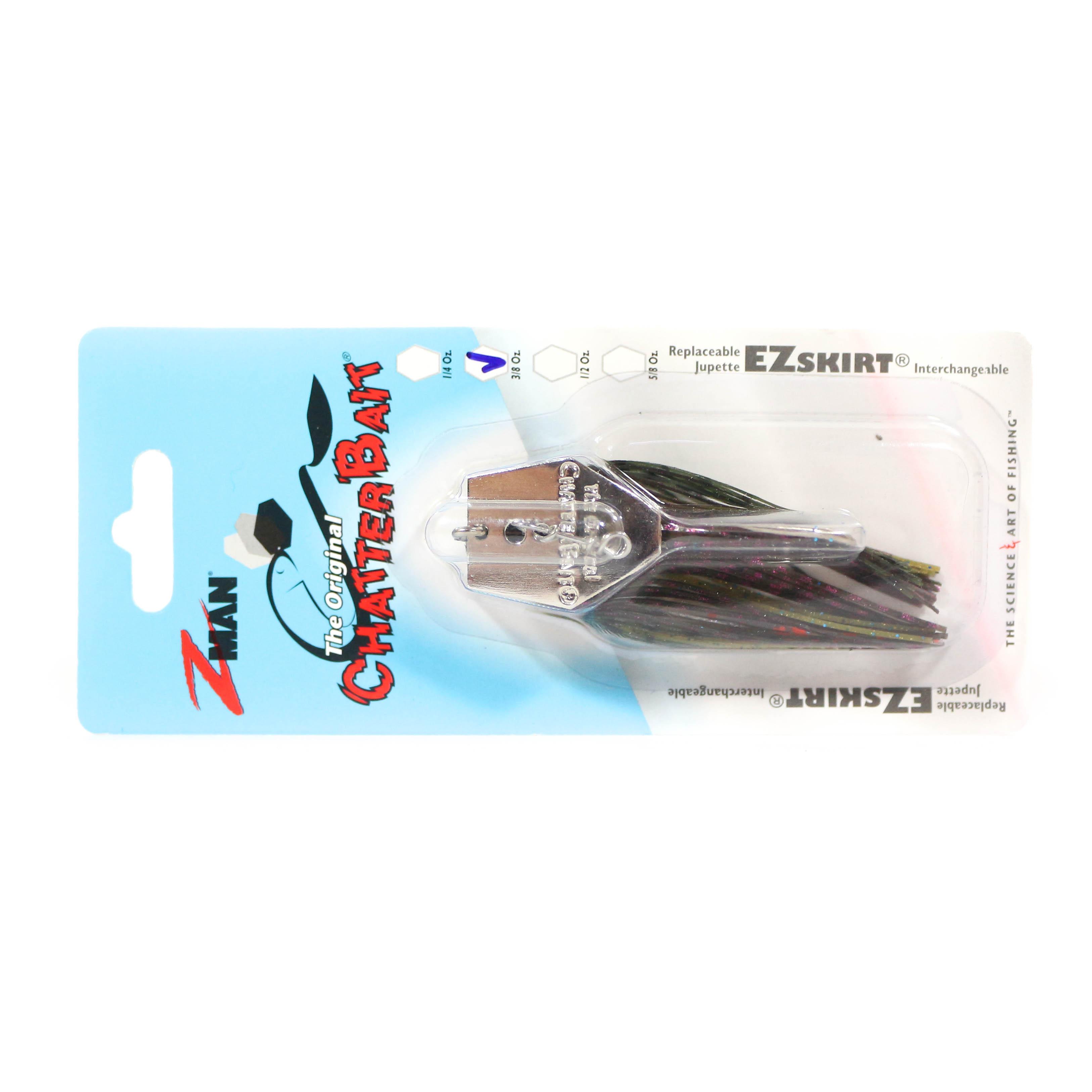 Zman Chatterbait 3/8 oz Sinking Lure Perch (0976)