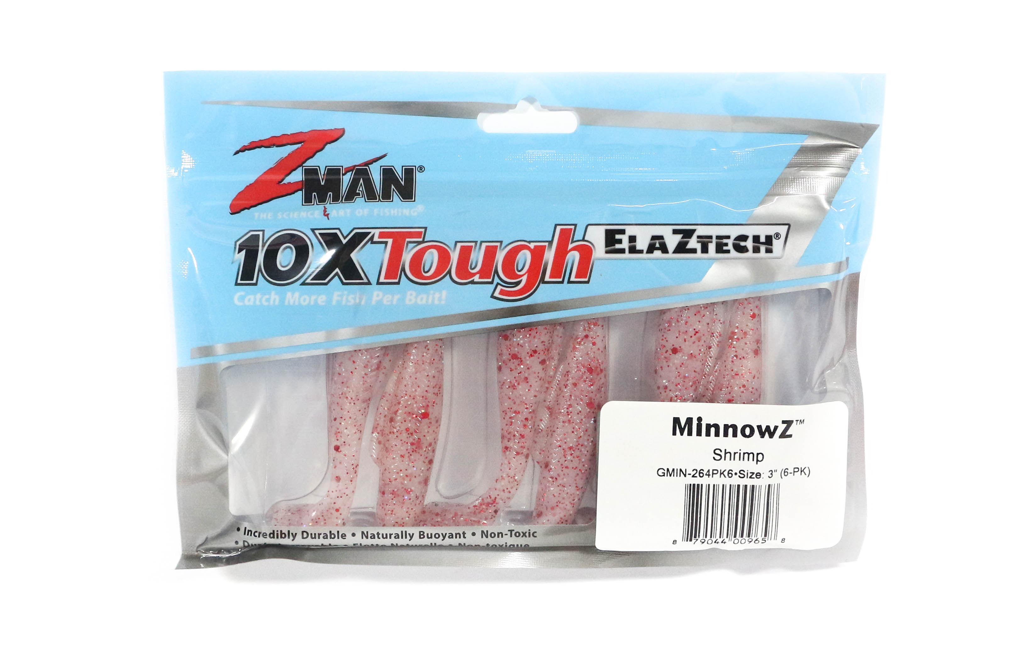 2550 Soft Lure MinnowZ 3 Inch 6 per pack Mulletron Zman